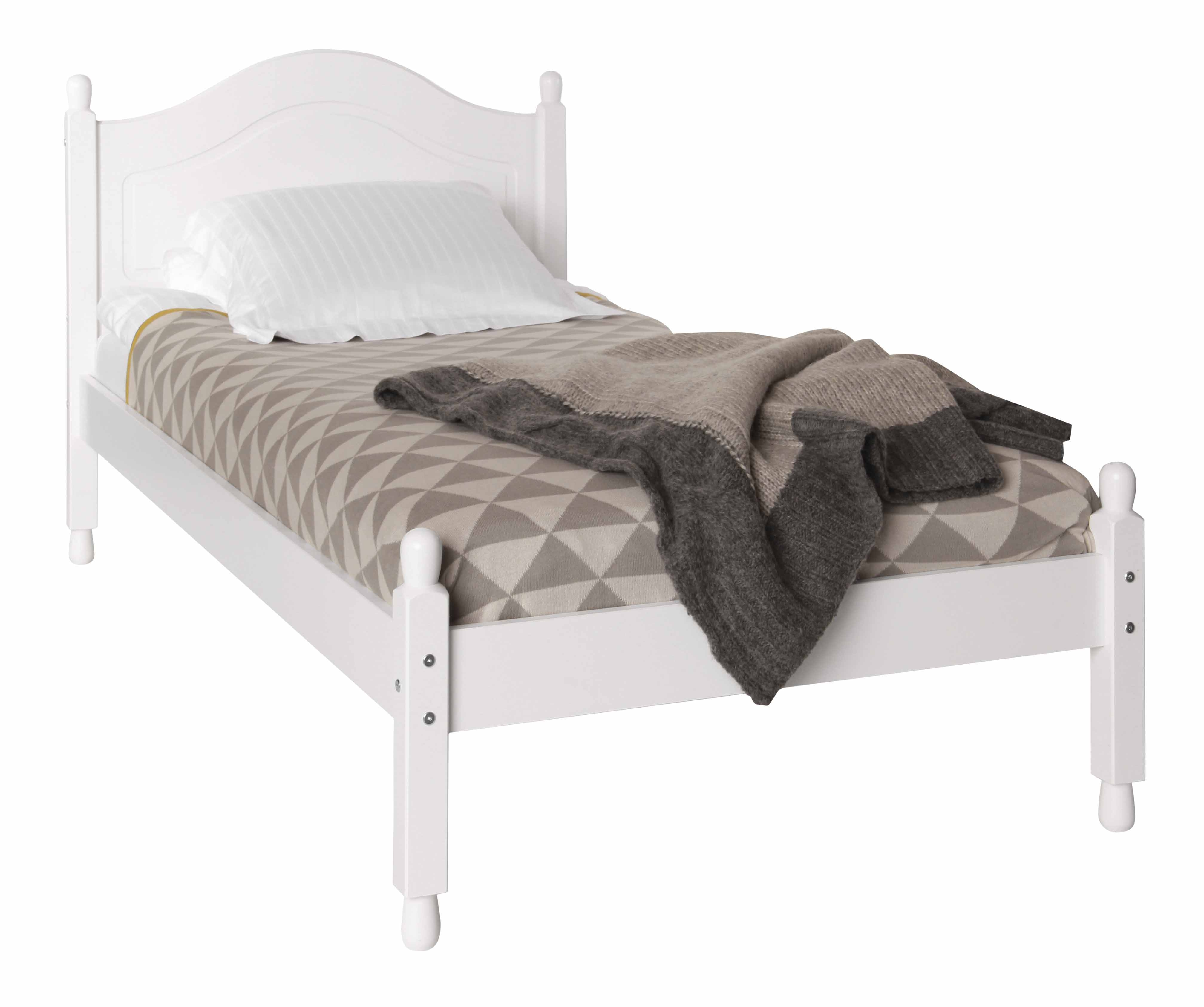 Chests of drawers Scandi White Single Bed